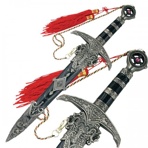"""D-209 MEDIEVAL SWORD 18.25"""" OVERALL"""