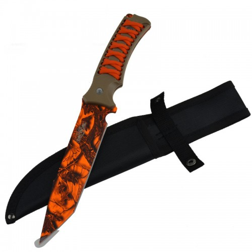"12"" Full Tang Survival Hunting Camping Knife"