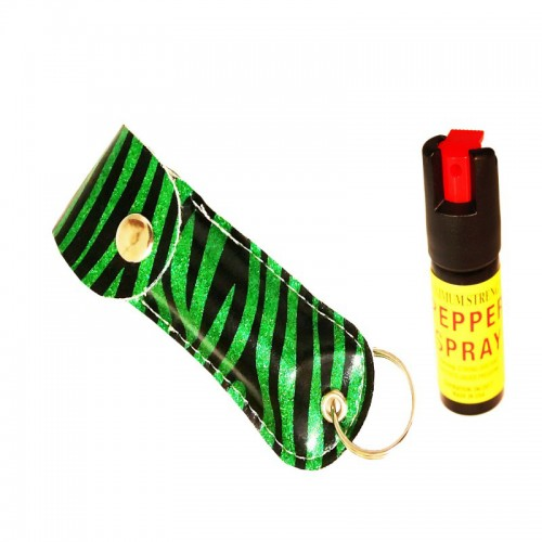 Green Zeebra Pepper Spray
