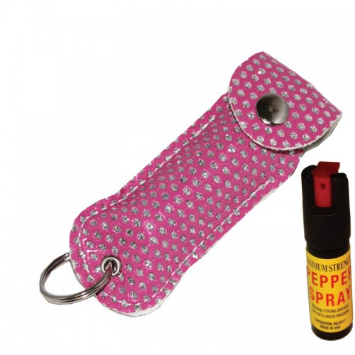 Pink Bling Pepper Spray