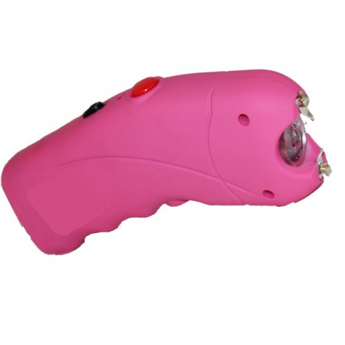 TKSG-23PK 2.5 Million Curved Pink Stun Gun